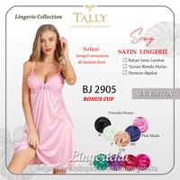 Baju Tidur Wanita Satin Halus Premium Lingerie Tally 2905