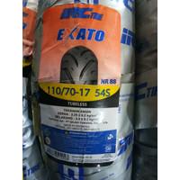 Ban Motor IRC Exato NR88 110/70 Ring 17 Tubeless