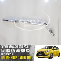 Cover Wiper New Agya Ayla 2017 Chrome