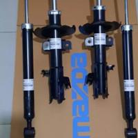 shock breaker mazda 2 depan dan belakang original fomoco