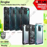 Case Redmi Note 9 Pro - Note 9 Ringke Fusion X Anti Crack Casing - Note 9 Pro, Black