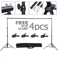 Background Stand Bracket Stand Untuk Backdrop Tiang Stand Backgro - Background 2x2