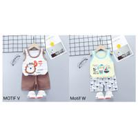 Baju Bayi / Setelan Bayi Anak Lucu / Setelan Oblong Singlet Bayi Anak