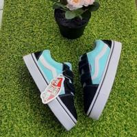 sepatu anak Vans Biru Hitam Premium Quality