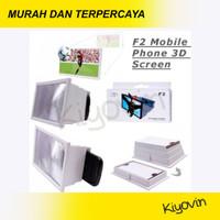 Pembesar Layar Hp F2 - Enlarge Screen F2 Magnifier 3D Mobile Cinema
