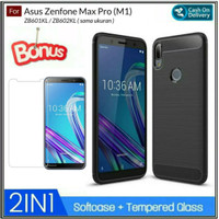 Asus Zenfone Max Pro M1 Hard Case Casing Slim BackCase And Cover - Hitam