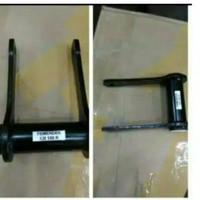 pemendek/peninggi shock belakang full with bearing pnp cb150r/cbr150