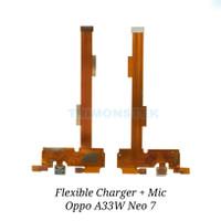Flexible Flexibel Charger + Mic Oppo Neo 7 A33 A33W Original
