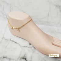 Gelang Kaki Emas/Gold Anklet