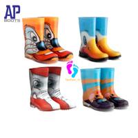 Sepatu AP Boots Anak-Sepatu Boots Anak Anak- Sepatu Boots Anak Terbaru