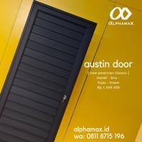 Austin Door Pintu Alphamax Aluminium /Pintu Kamar Mandi /Pintu Gudang
