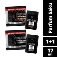 Paket Axe Parfum Saku Dark Temptation dan Black 17Ml