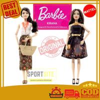 Boneka Barbie Baju Batik Iwan Tirta Special Edition Original Mattel