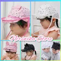 Topi Faceshield Anak Baby Bayi / Topi Anti Corona Anak