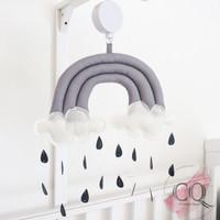 Mainan Gantungan Box Bayi Pelangi B - Hanging Baby Crib Mobile Rainbow
