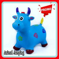 TERBAIK Animal Jumping / Mainan Kuda Kudaan / Mainan Kuda Sapi Karet