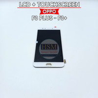 LCD OPPO F3 PLUS/F3+ FULLSET + TOUCHSCREEN ORI OEM