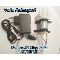 Pompa Air A1 Adaptor DC 12v Mini Diaphragm Water Pump