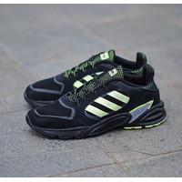 sepatu ADIDAS VALASION 90S ALL BLACK STABILO original murah