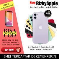 iPhone XI iPhone 11 64GB Nano Esim 64 GB Garansi Resmi iBox - RESMI IBOX, black