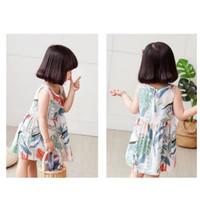 Baju Dress Anak Perempuan 5-6 tahun Bermotif / Dress Kasual Anak
