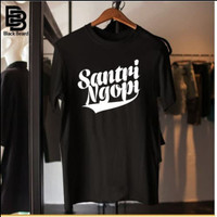 Black Beard Kaos Distro Soft CottonCombat30s/T-Shirt Pria/santri Ngopi