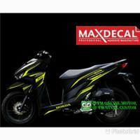 cutting sticker Honda new Vario 150-125 kuning stabilo 002-MAXDECAL