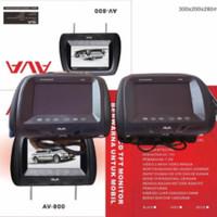 Bantal headrest 8 AVA AV-800 Tv Jok Headrest Monitor Mobil AVA AV 800