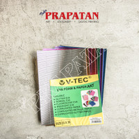 V-TEC Corrugated Paper 20x30cm / Eva Foam and Paper Art