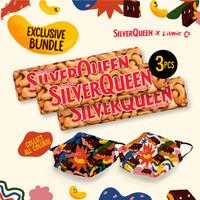 SilverQueen Cashew x Liunic (isi 3 + masker Liunic)