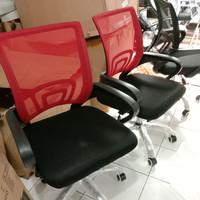 Kursi jaring termurah warna merah