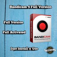 Perekam Layar Bandicam 4 Full Version Activated 32bit & 64bit