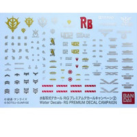 Stock terbatas RG Gundam Premium Water Decal Campaign 2 Limited