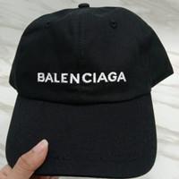 Topi Balenciaga Cap Baseball Hitam Black Original Asli ORI Snapback