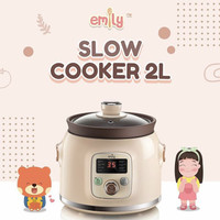 EMILY Slow Cooker 2 L