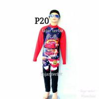 Baju renang anak laki/cowok/spiderman/cars/iron man/pakaian renang