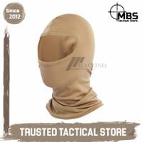 Premium Quality Balaclava Maguno Balaclava Masker Ninja Maguno Grosir - Cokelat
