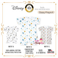 Little Palmerhaus Disney Baby Zippy Playsuit Baju Bayi Premium