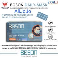 BOSON Masker Earloop 3 Ply Non-Medis