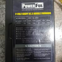 power supply 600watt pure