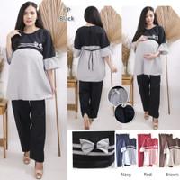 Iorifash/stelan baju hamil/baju hamil wanita/dress ham/ST09