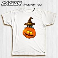 KAIZER RH-0925 Kaos Witch Cat Pumpkin ( Penyihir Labu ) - Halloween