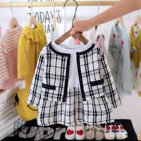 Dress Bayi Balita Blazer Baju Bayi Import 2pcs