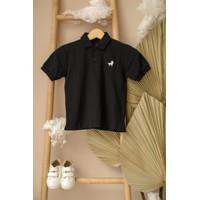 Polo Shirt Anak Little Warren Navy (No 1 Best Seller)