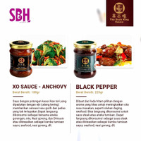 SAUS DUCK KING PREMIUM SAUCE SERIES - BLACK PEPPER KUNGPAO XO VARIANT - Black Pepper