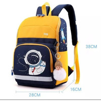 tas astronot anak laki laki / tas sekolah anak perempuan