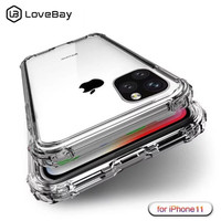 Apple iPhone XS 11 12 Mini Pro Max Anti Crack Soft Silicone Jelly Case