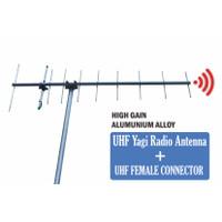 Yagi UHF 10 Element Jarak Jauh HT RIG UHF Pengarah Antena High GAin