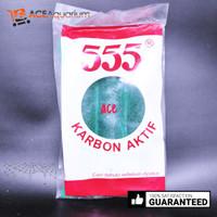 Arang Karbon Aktif 555 Kecil Akuarium Carbon Aktif 555 ACE Aquarium