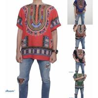Promo Atasan Pria Baju Bali Motif Bangkok Warna Random